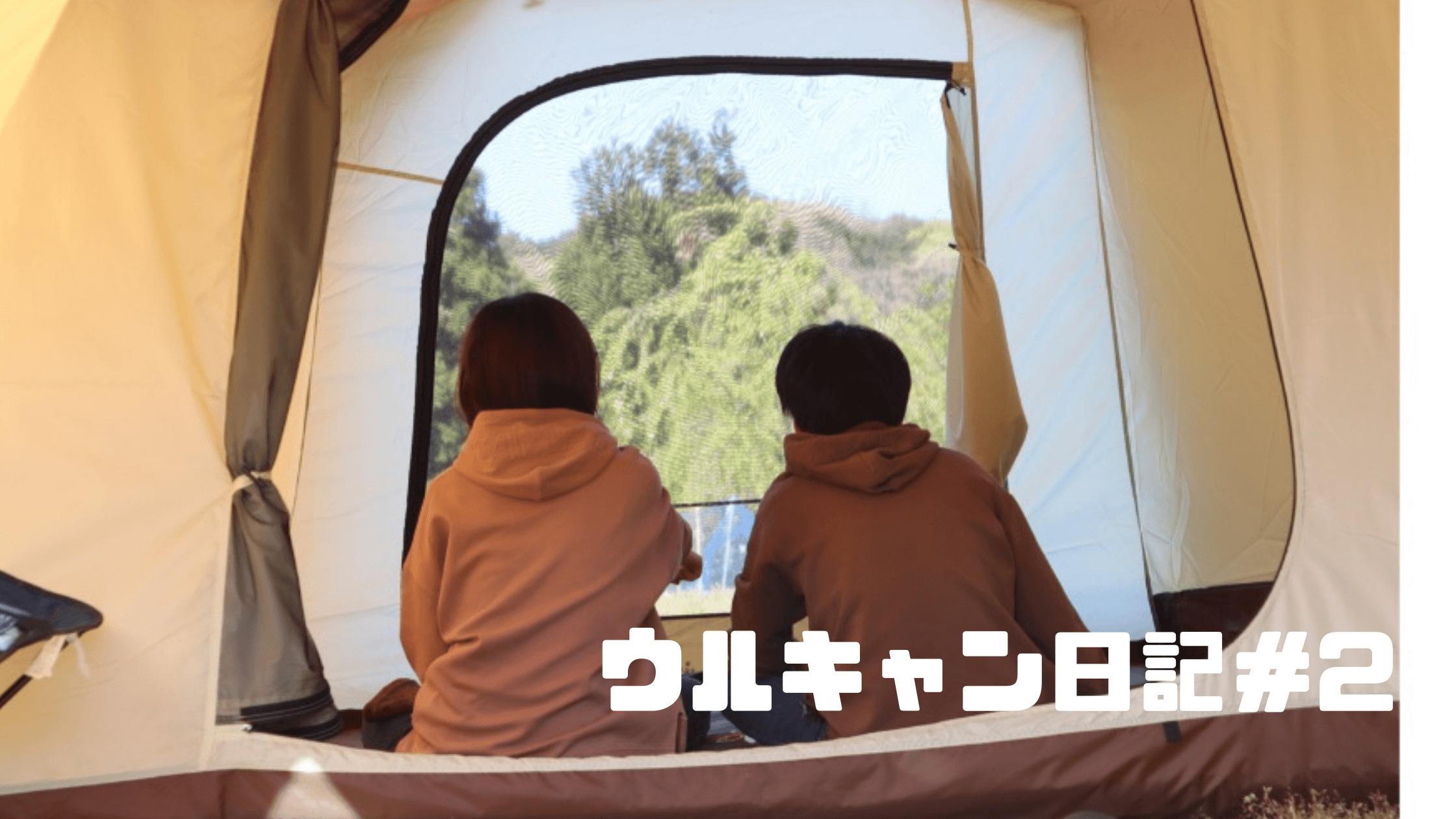 ウルキャン日記#2:初キャンプしたよ「エルフィールド設営とキャンプ飯」